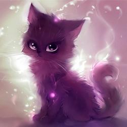 Фиолетовая Кошка
